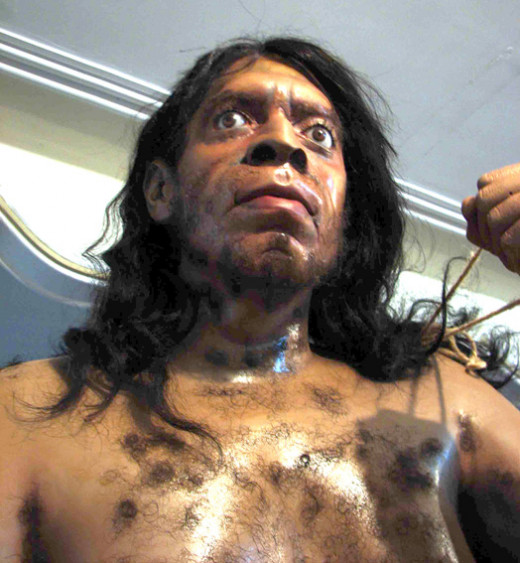 "Neanderthal ""man"" looks like a human being."