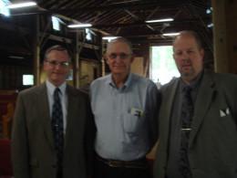 TGAF III Preachers (l-r) Larry Richmond, Rick Vincent ,Dave Iseminger,