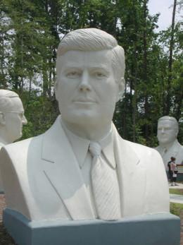 John F Kennedy done by David Adickes
