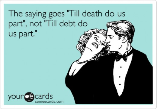 Till Debt Do Us Part