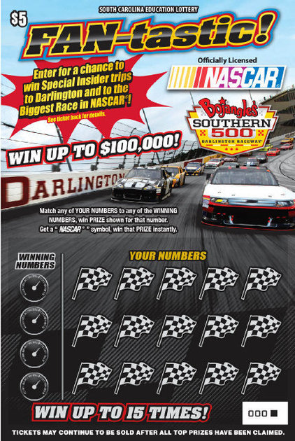 NASCAR and the lottery- fair comparison?