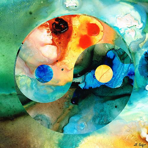 Earth Balance- Yin and Yang Art by Sharon Cummings from Sharon Cummings flickr.com