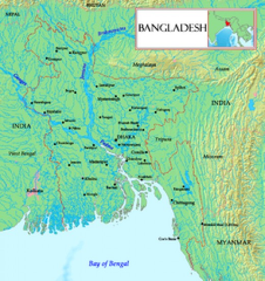 Bagladesh Mainly Women and Children