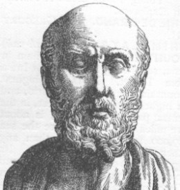 Hippocrates first described the sudden paralysis that is often associated with stroke.