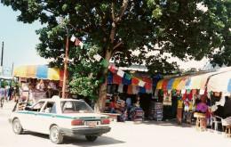 Marketplace shops offer unique items.  (Cancun).