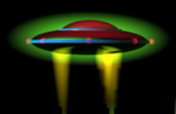 Have you seen an UFO lately?  Have you seen an UFO lately?