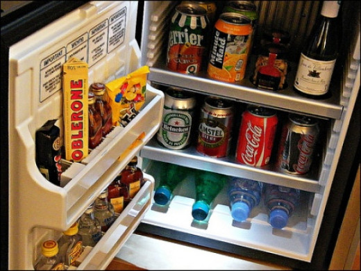 Items in your hotel room's mini-bar may not be included in your all-inclusive package.