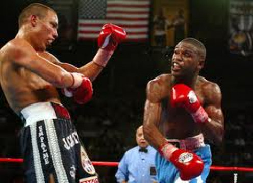 Floyd Mayweather beat Jose Luis Castillo twice. Once by a close decision and then he dominated Castillo in the rematch.