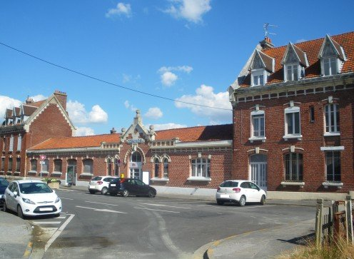 Comines railroad station