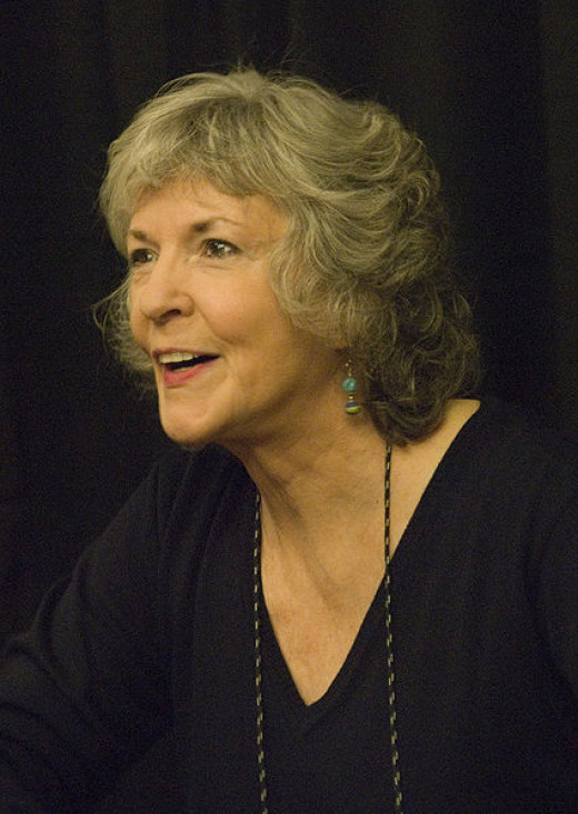 My favorite author, Sue Grafton