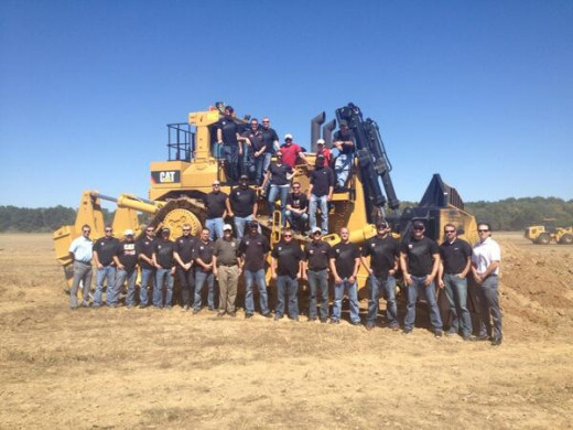 Despite knowing he'll be gone next season, Burton spent his off day with sponsor Caterpillar's headquarters staff