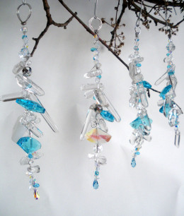 High Quality Glass and Crystal Ornaments for christmas