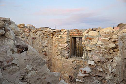Bullfrog, Navada - ruins of town Jail