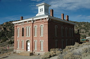 Belmont, Nevada courthouse