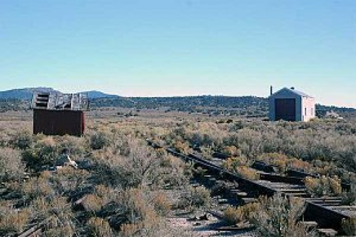 Surviving buildings of Cobre, Nevada