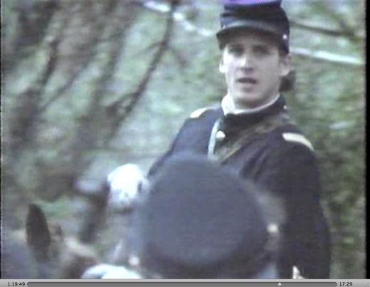 Josh Lucas as George Armstrong Custer.