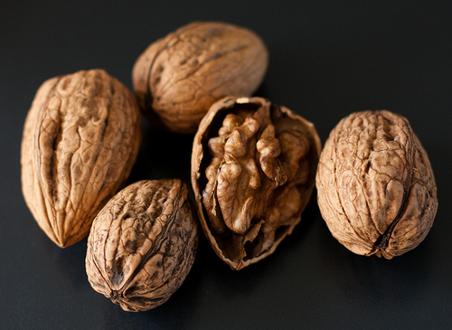 Essential fatty acids can be found in foods such as walnuts.