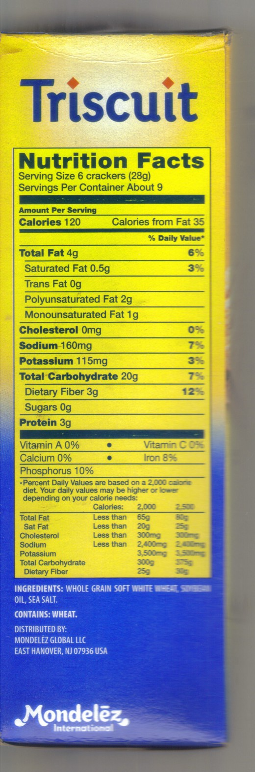 "Nutritional ""facts"""