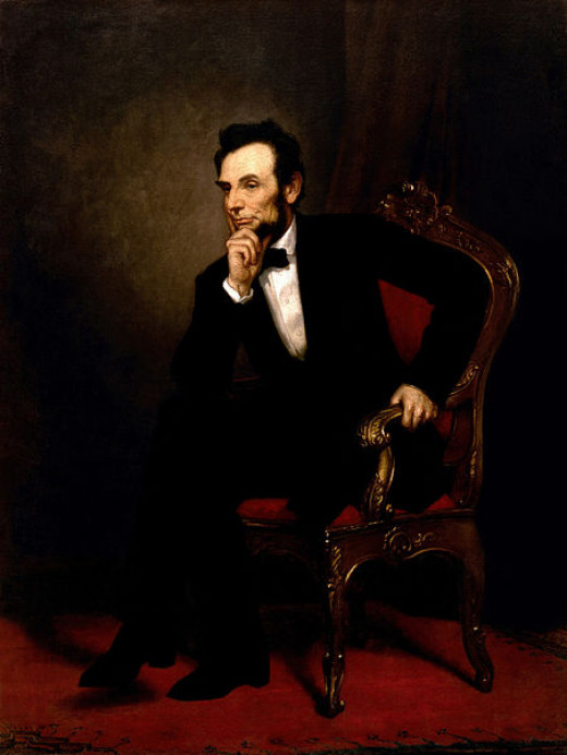 """Abraham Lincoln"" painting by George Peter Alexander Healy 1869"