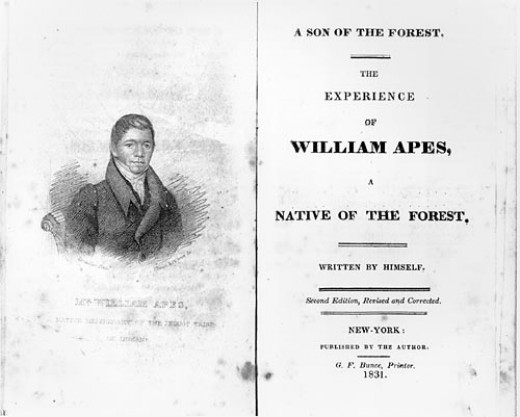"William Apess' ""A Son of the Forest"""