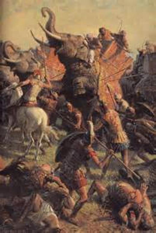 Alexander's infantry