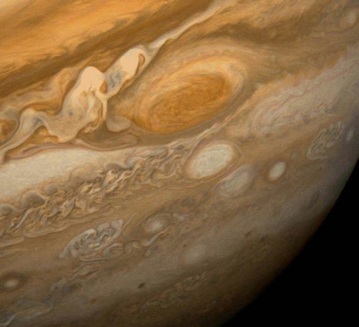 The mysterious red spot