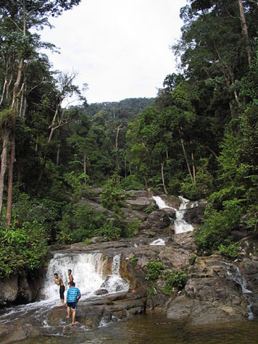 Waterfalls at Gunung Ledang