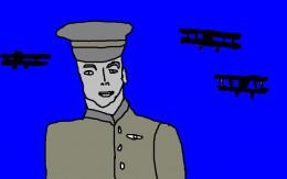 Frank Luke USA World War One fighter Ace.