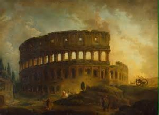 The destruction of Rome