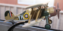 Model of the 1940 Gloster Gladiator