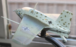Model of a German World War Two rocket plane.