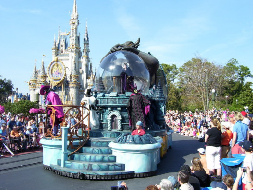 Pick a side of the park and avoid the parade routes until well after the parades.