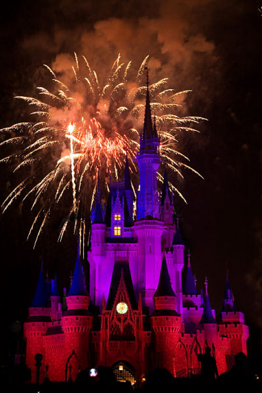 Stay for the late night Extra Magic Hours for a lighter crowd experience.  Avoid the fireworks if you don't like crowds.