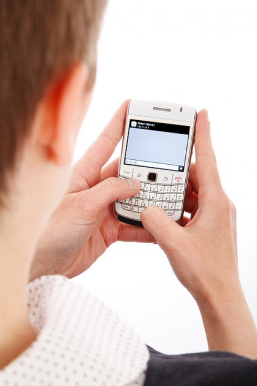 Those who get too nervous over a phone call may prefer other methods, like a text message.