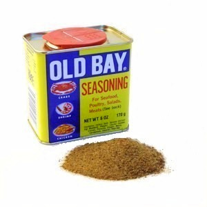 Old Bay seasoning is great on seafood and just about everything else.
