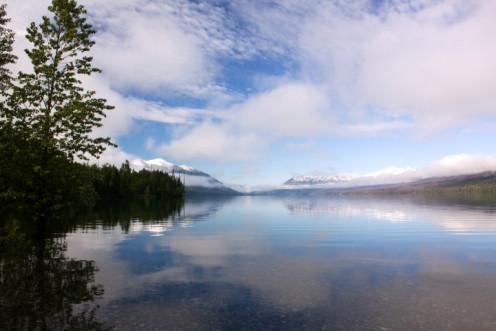 Lake McDonald and Clouds