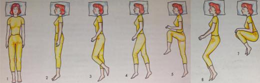 Sleep well: the positions that facilitate a good sleep.