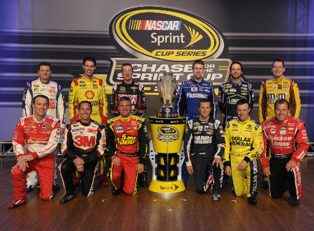 2013 Chase drivers, Take 2