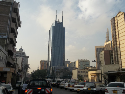 The City of Nairobi - East Africa's Business hub