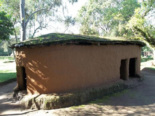 an Elgon Maasai hut