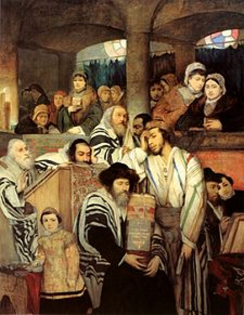 225px-Gottlieb-Jews_Praying_in_the_Sy...