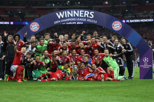 The 2913 Winner - Bayern Munich