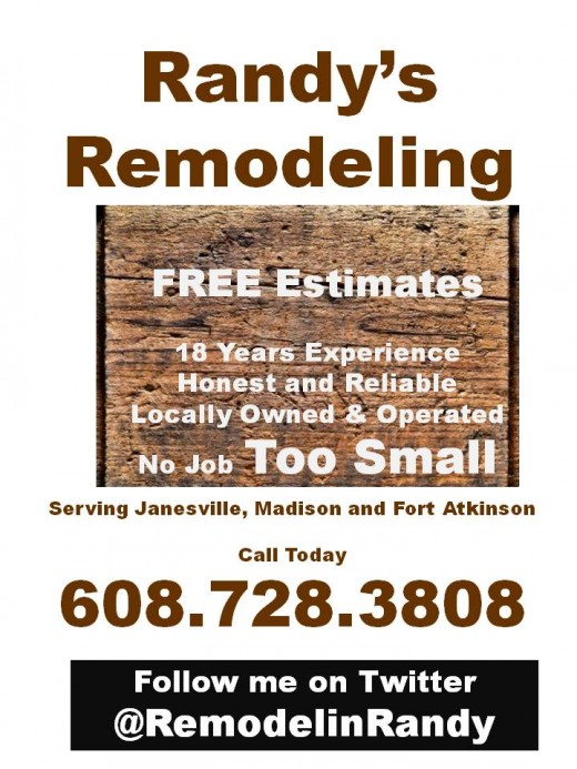 Home Remodeling Help Janesville, Fort Atkinson, Madison, Wisconsin
