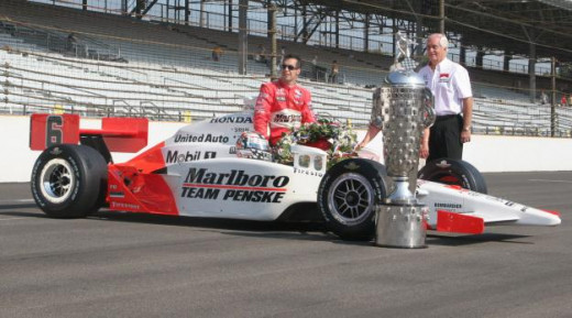 Penske has won at Indy 15 times as an open wheel owner