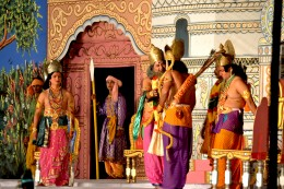Ramlila, a dance-drama based on the life of Lord Rama, is generally performed during Dushera festival