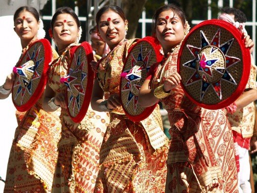 Indian Folk Dance Forms a Folk Dance From The Indian