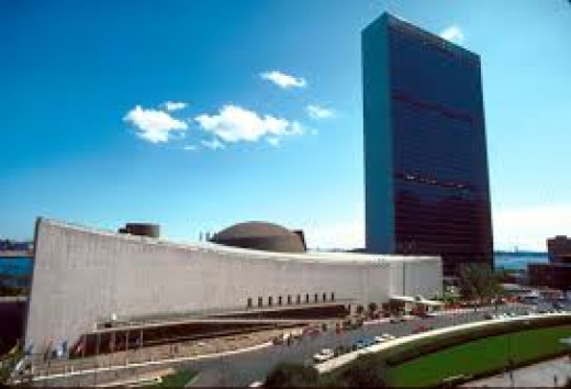 U.N. HEADQUARTERS, NEW YORK