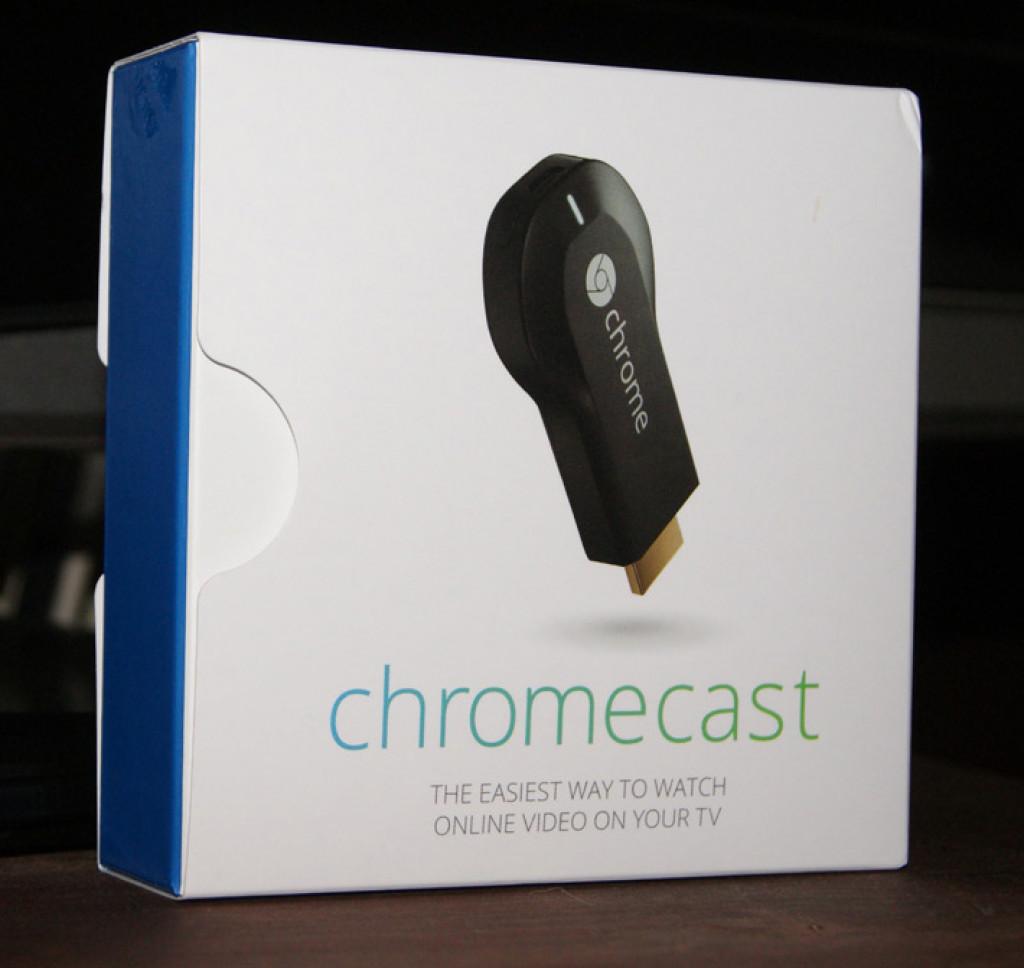 Hook up chromecast to receiver