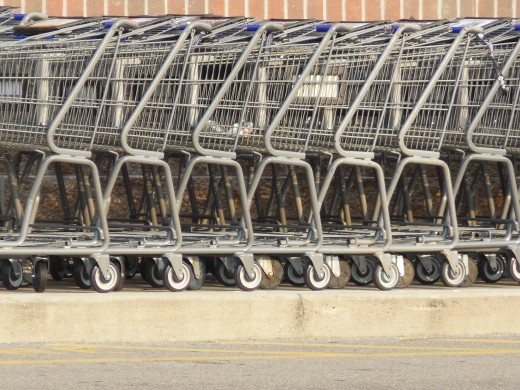 Kroger stores need lots of carts for lots of shoppers