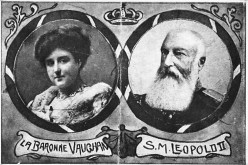 King Leopold II of the Belgians and Consort Baroness Vaughan
